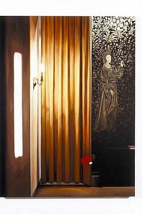 Patti Oleon, German Hotel Lobby 2000, oil on panel