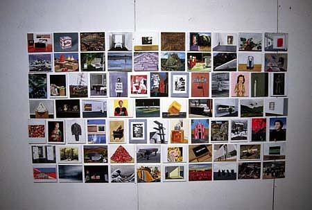 Eamon O'Kane, Ideal Collection 2005, acrylic on board