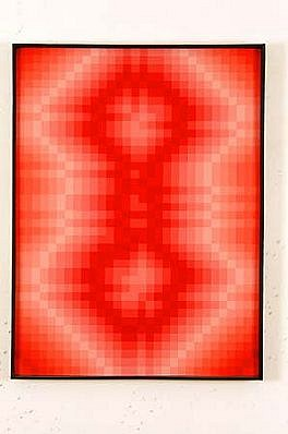 Janusz Orbitowski, Spatial Composition 1968, acrylic