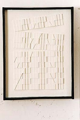 Janusz Orbitowski, Untitled 1996, acrylic, wood