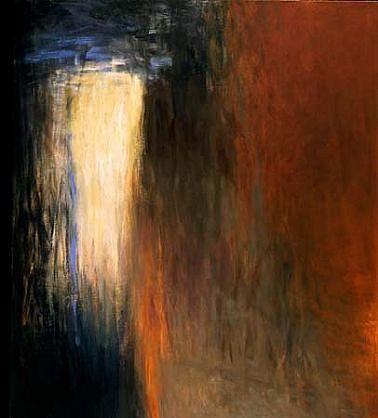 Susan Osgood, Trust in Darkness 1992, oil