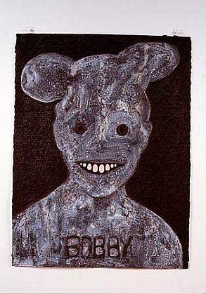 Judith Page, Bobby (Near Baghdad) 2004, mixed media