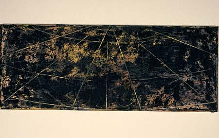 Gary Passanise, Study for Stations 1988, mixed media on canvas