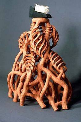 Rina Peleg, Tree of Life 1987, terra cotta