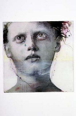 Sibylle Peretti, Silent Children 2005, mixed media on plexi