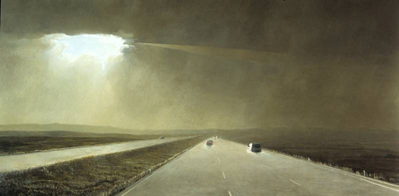 Eric Perez, The Road 2008, oil on canvas