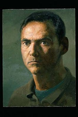 James Phalen, Self Portrait 1998 - 1999, oil on canvas