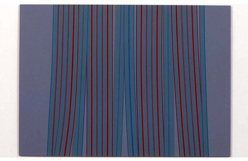 Ann Pibal, F.L.P. 2005, acrylic on aluminum