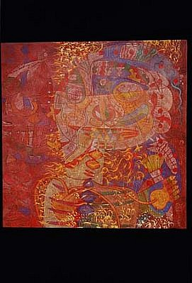 Pradeep Sukumaran, Totally Confused 2002, oil on canvas
