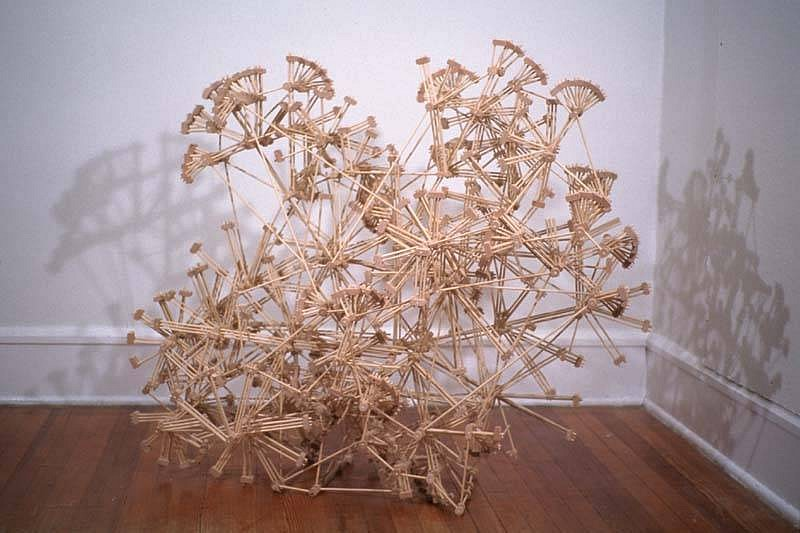 Ben Pranger, The Vision Thing 2004 - 2005, wood