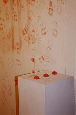 James Montford, Red Hand Installation 2000