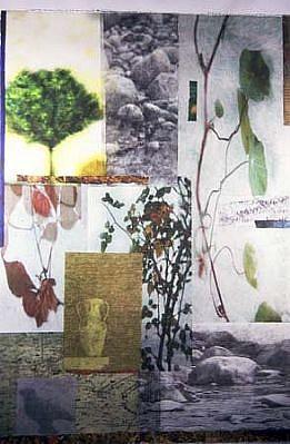 Pamela Moore, Nature III 2000, monoprint intaglio