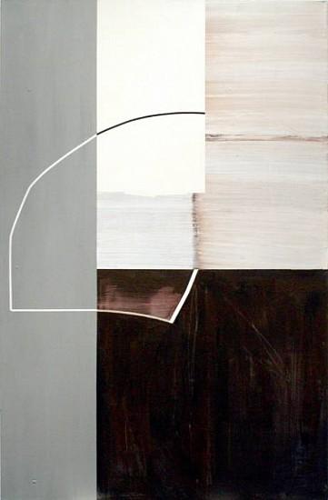 Gordon Moore, Scollop 2008, acrylic, latex and pumice