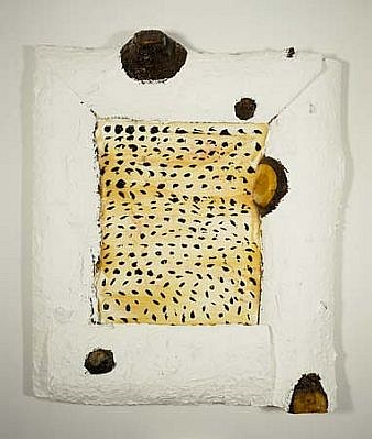 Kenneth Morgan, New England Abstract 1989, acrylic, wood