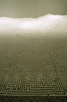 Motoi Yamamoto, Labyrinth 2001, salt