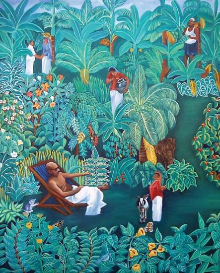 Murali Nagapuzha, Bashir Series 2000, oil on canvas