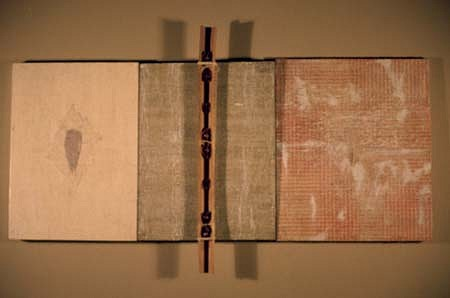 Wilmar Nascimento, Tr�ptico II 1990, mixed media