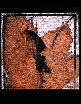 Joyce Neimanas, Mosaic Dog 1999, ink jet print