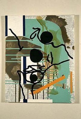 David Mackenzie, Untitled 2003, acrylic on canvas