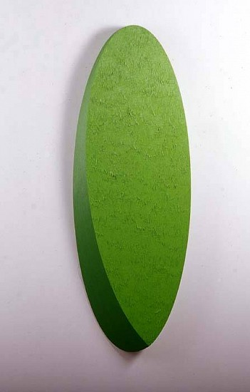 Bence Marafko, Curved Basic Forms 2--Ellipse 2005-2006, oil on wood
