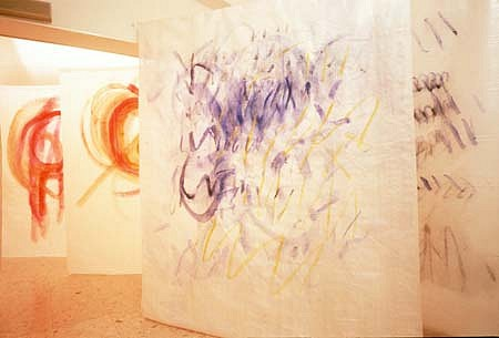 Giovanna Marini, Untitled 1997, acrylic on plastic