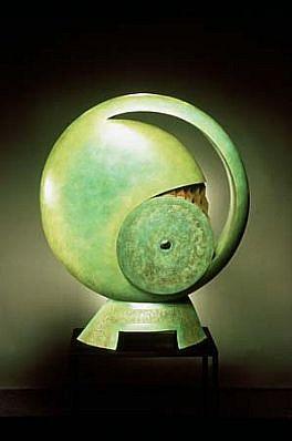 Jeffrey Maron, MoonTide 1984, bronze