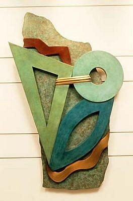 Jeffrey Maron, Sea of the Spirit 1987, bronze