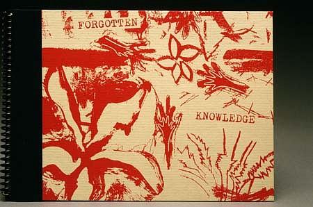 Marisol Martinez, Forgotten Knowledge 2002, silkscreen, hardcover, spiral bound