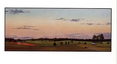 John McDonald, Pocahontas I 1988, oil on panel
