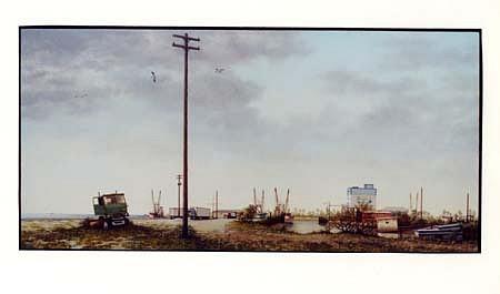 John McDonald, Bayou Caddy 1996, oil on panel