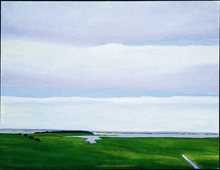 Jane McNichol, Orient 2004, oil on canvas