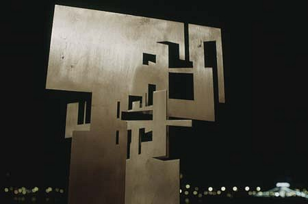 Janos Megyik, Project for Sculpture 2000, steel