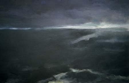 Paddy Lennon, Horizon 1998, oil on canvas