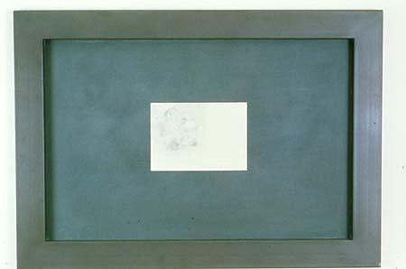 Daniel Levine, Sketch 1988, acrylic, enamel, ink, graphite on steel