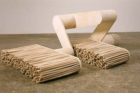 Erik Levine, Empirical Hardware 1998, plywood