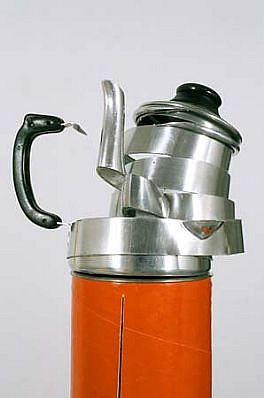 Ana Linneman, The World as an Orange 2002, coffee pot