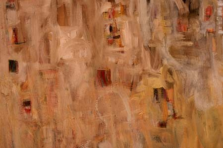 Jackie Lipton, Untitled 1997, oil wax, alkyd, paintstick on canvas
