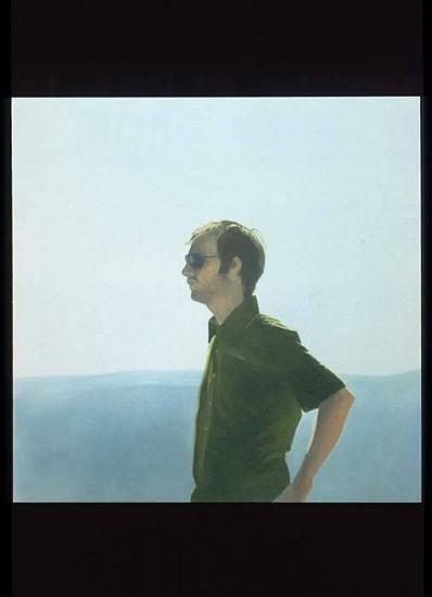 Jake Longstreth, Portrait of Franz Prichard 2007, acrylic on panel