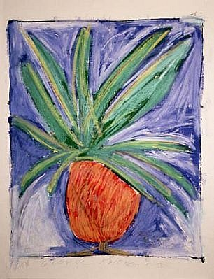 George Kokines, Asbasia 1998, oil on paper