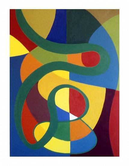 Harriet Korman, Untitled 2006, oil on canvas