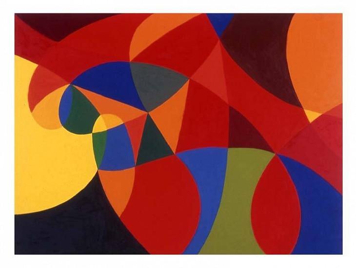 Harriet Korman, Untitled 2004, oil on canvas