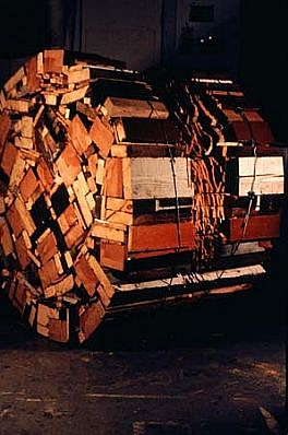 David Kramer, Binge & Purdge 1989, wood, cable