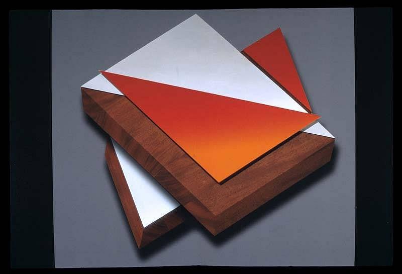 Anthony Krauss, Future 2 2007, mirrored aluminum and mahogany