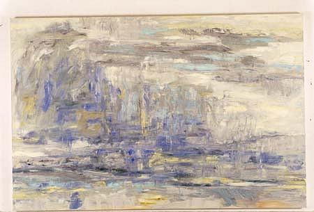 Greg Kwiatek, Patchogue II 1992, oil on linen