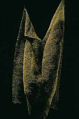 Margaret Kaminska Skiba, Erosion 1989, nickel wire