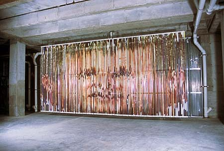 Young-Min Kang, George 2004, digital print installation