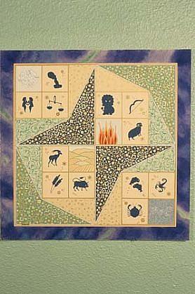 Ayse Kardas, Zodiac Chart 1996, paper
