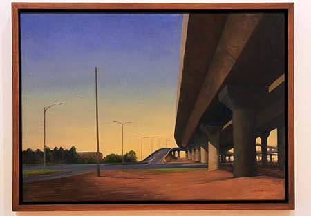 Michael Kelly, The New Road 2003, oil on linen