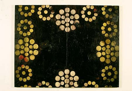 Ken Kelly, Plague 1992, oil on canvas