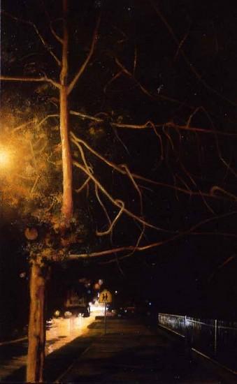 William Kennon, Night Tree 1 2006-2007, oil on linen